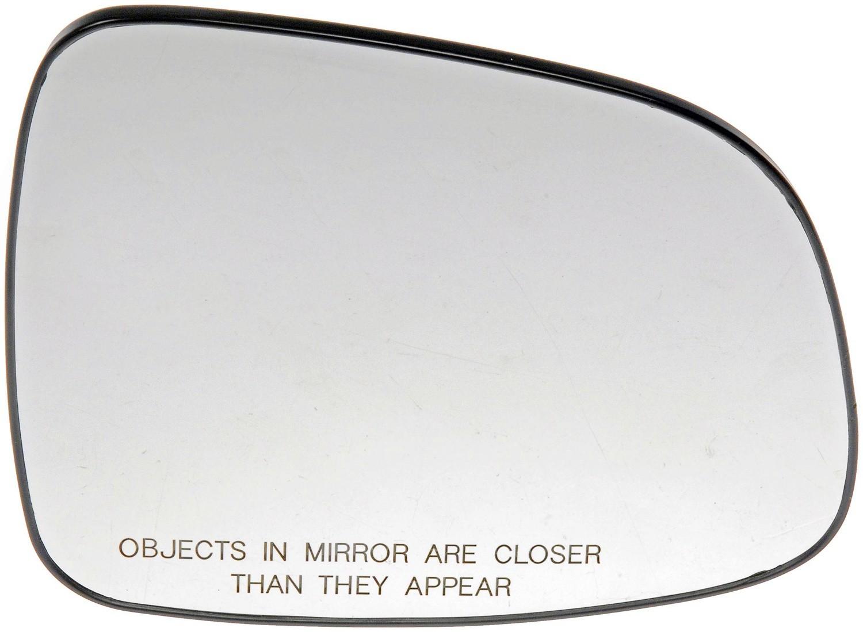 Imagen de Cristal de espejo de la puerta para Suzuki SX4 2007 2008 Marca DORMAN Número de Parte 56813