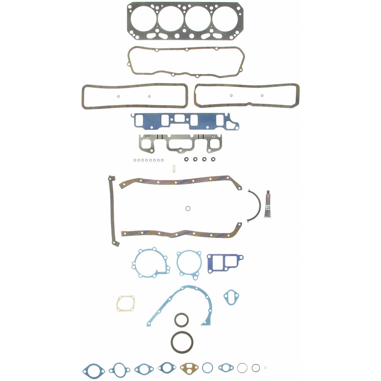 Imagen de Juego Completo Empacaduras del Motor para Chevrolet Celebrity 1985 Marca SEALED POWER Número de Parte 260-1178
