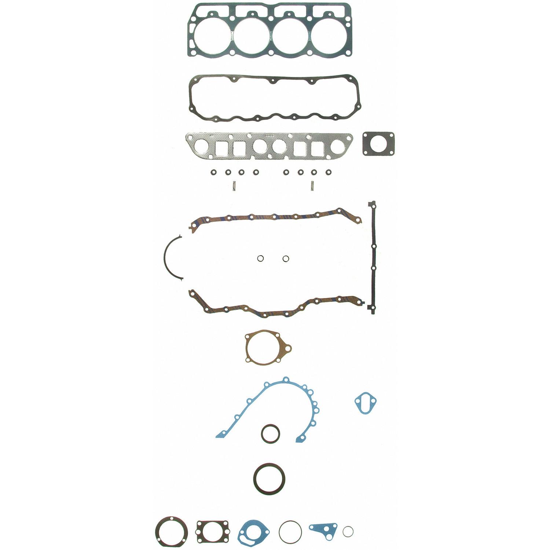Imagen de Juego Completo Empacaduras del Motor para Jeep Wrangler 1987 Marca SEALED POWER Número de Parte 260-1192