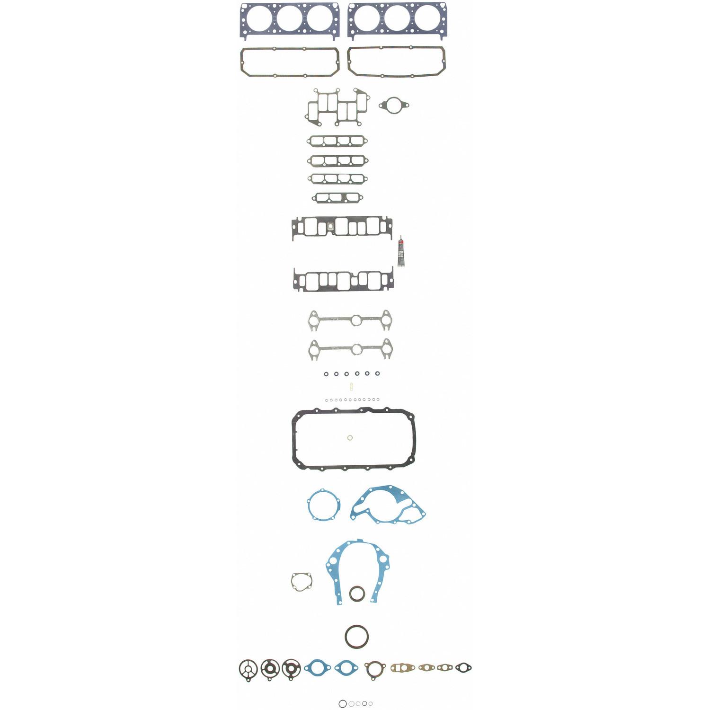 Imagen de Juego Completo Empacaduras del Motor para Chevrolet S10 1991 GMC S15 Jimmy 1987 Marca SEALED POWER Número de Parte 260-1232