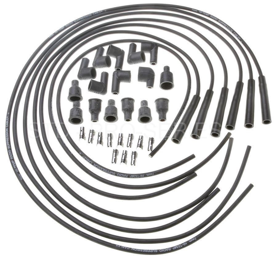 Imagen de Juego de cables de bujía para Mercedes-Benz 250 1971 1972 Marca STANDARD MOTOR Número de Parte 23600