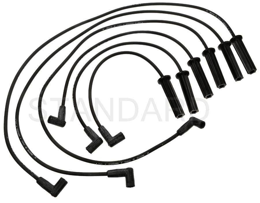 Imagen de Juego de cables de bujía para Oldsmobile Cutlass Ciera 1996 Oldsmobile Cutlass Supreme 1993 Marca STANDARD MOTOR Número de Parte 7646