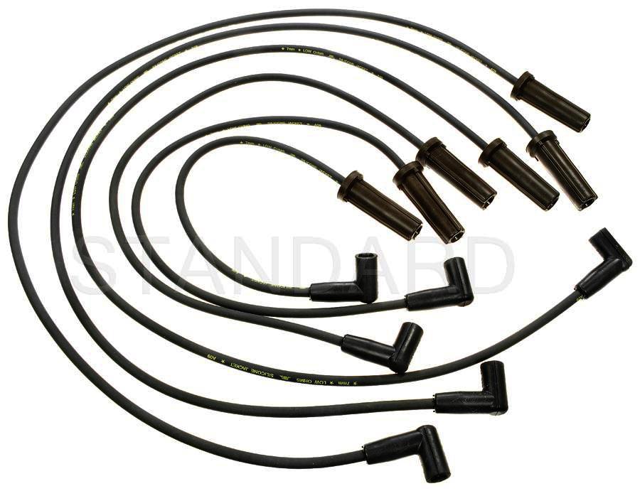 Imagen de Juego de cables de bujía para Buick LeSabre 2000 Marca STANDARD MOTOR Número de Parte 7689