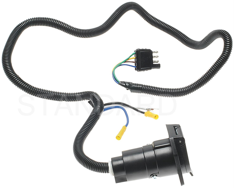 Imagen de Kit de Conectores de Remolque para Hyundai Kia BMW Isuzu Chrysler Jeep Buick Cadillac Chevrolet Geo... Marca STANDARD MOTOR PRODUCTS Número de Parte #TC424