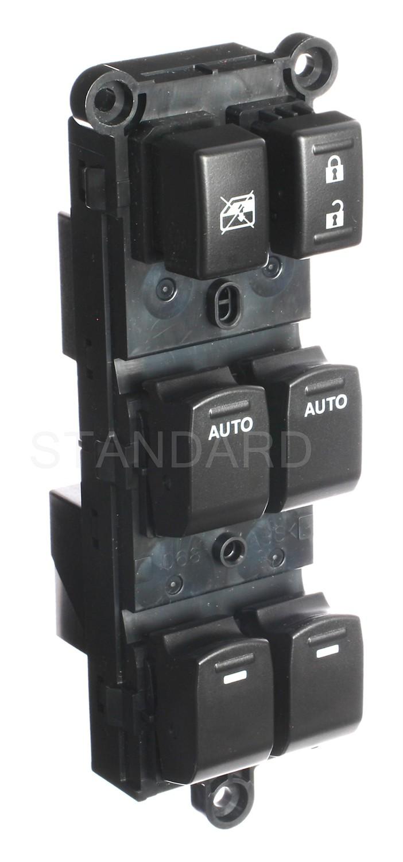 Imagen de Interruptor de vidrio eléctrico de la puerta para Suzuki Kizashi 2010 2013 Marca STANDARD MOTOR Número de Parte DWS-833
