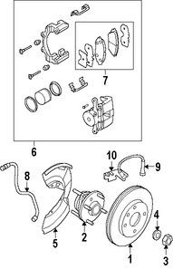 Imagen de Sensor de Velocidad Freno ABS Original para Suzuki Verona 2004 2005 2006 Marca SUZUKI Número de Parte 5621086Z00