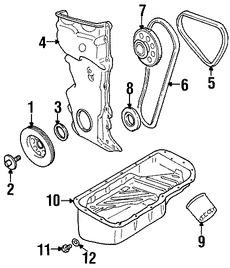 Rueda Dentada Distribución Original para Suzuki Esteem