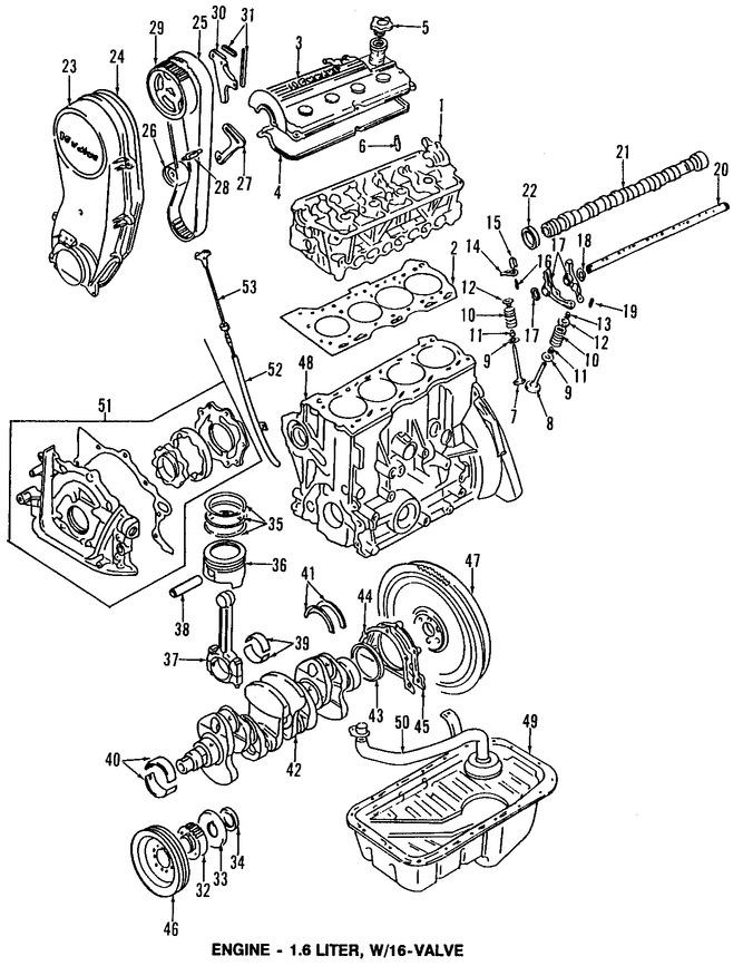 Piston para Suzuki Sidekick 1998