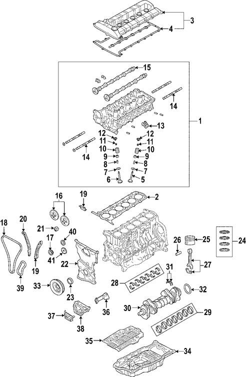 Imagen de Sello del cigueñal del motor Original para Suzuki Verona 2004 2005 2006 Marca SUZUKI Número de Parte 1222786Z00