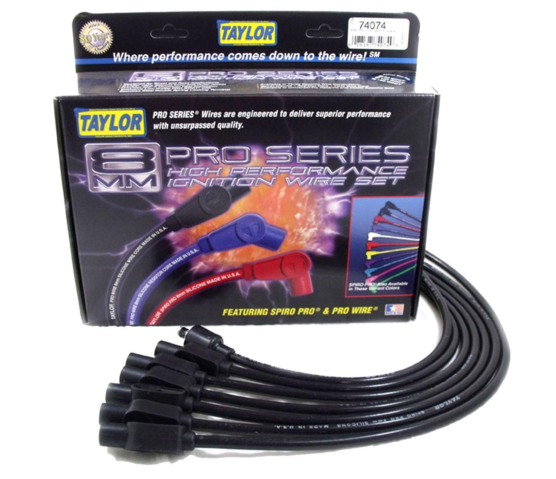 Imagen de Juego de Cables de Encendido para Dodge D250 1990 Marca TAYLOR CABLE Número de Parte 74074