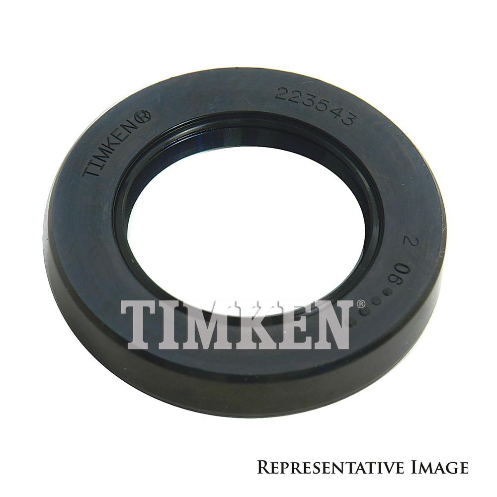 Imagen de Sello del cigüeñal del motor para Porsche Kia BMW Ford Mercury Toyota Mazda Marca TIMKEN Número de Parte #229010
