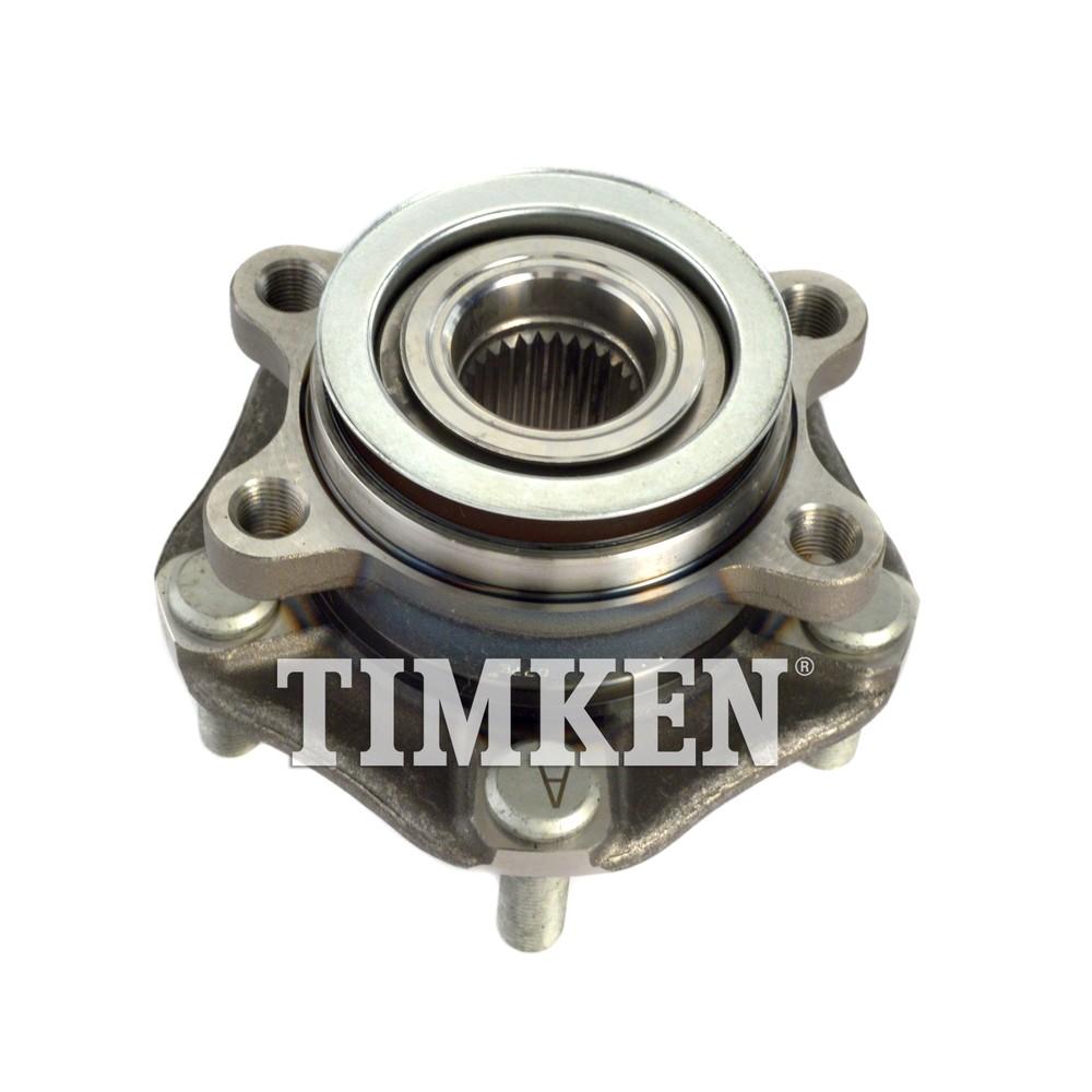 Imagen de Conjunto de Cojinete de Rodamiento y Cubo para Nissan Sentra Nissan Leaf Marca TIMKEN Número de Parte HA590538
