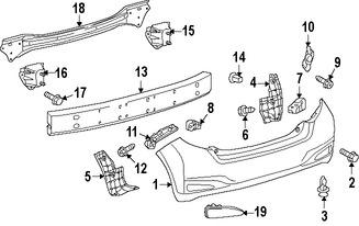 Guardasalpicaduras del parachoques para Toyota Yaris 2012