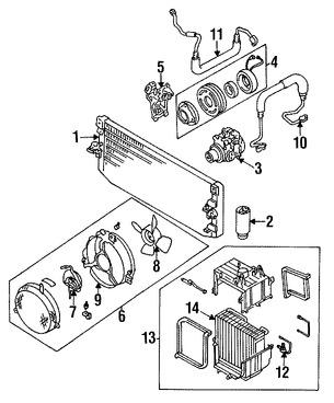 Receptor-Secador de Aire Acondicionado Original para