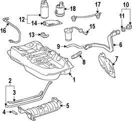 Bomba de combustible Original para Toyota Celica Toyota