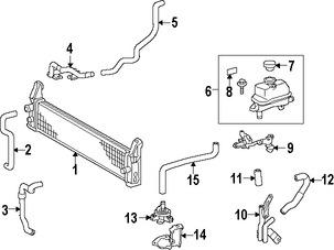 Imagen de Bomba de Agua Auxiliar del Motor Original para Lexus GS450h 2013 Marca TOYOTA Número de Parte G904033020