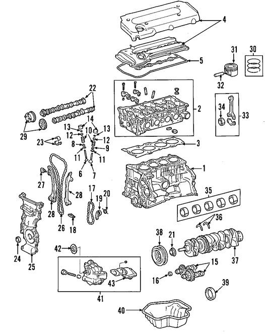Válvula de Escape del Motor Original para Scion xB Scion