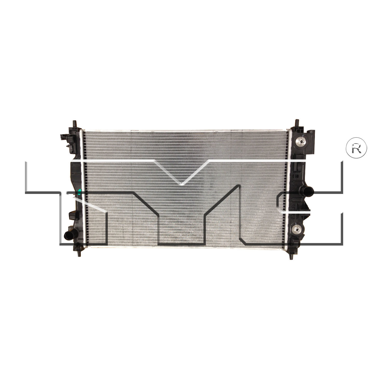 Imagen de Montura del radiador para Buick Verano 2015 Marca TYC Número de Parte 13325