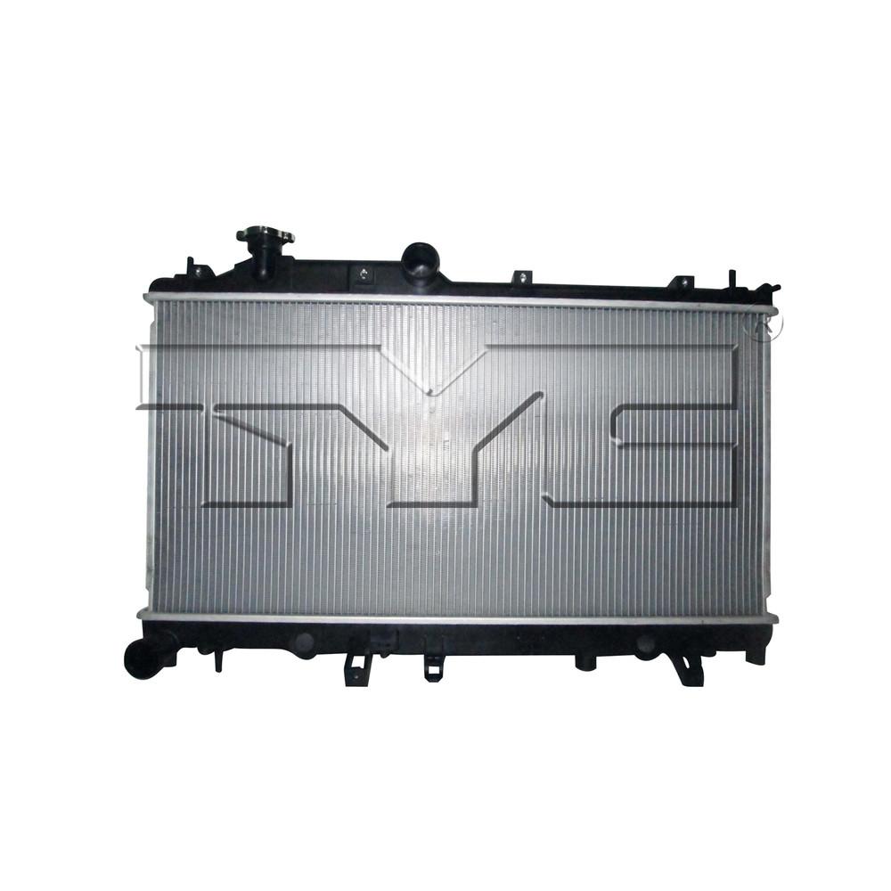 Imagen de Montura del radiador para Subaru WRX STI 2017 Marca TYC Número de Parte 13458