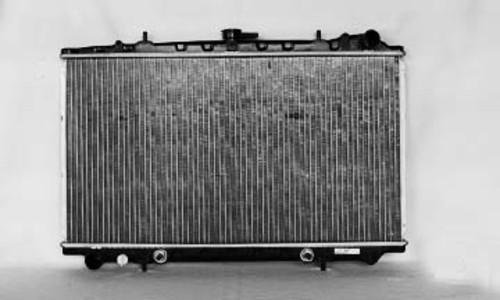 Imagen de Montura del radiador para Nissan Stanza 1990 Marca TYC Número de Parte 140