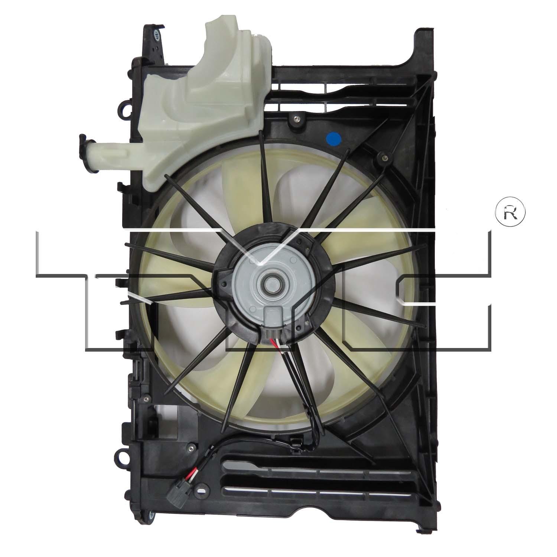 Imagen de Ventilador Dual Condensador y Radiador  para Toyota Corolla 2014 2015 2016 Marca TYC Número de Parte #623160