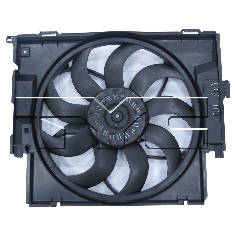 Imagen de Ventilador Dual Condensador y Radiador  para BMW Marca TYC Número de Parte 623420