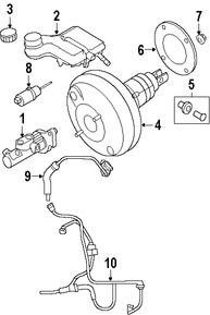 Sensor de Presión de Líquido de Freno Original para Volvo