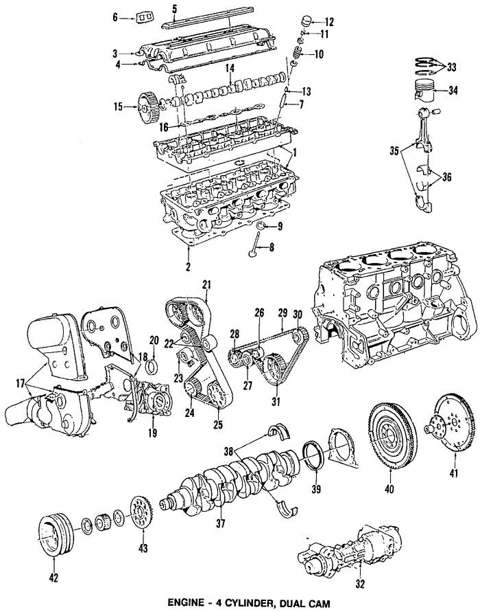 Imagen de Cadena del Tiempo Original para Volvo 240 1991 Volvo 740 1991 Volvo 940 1991 Marca VOLVO Número de Parte 271714