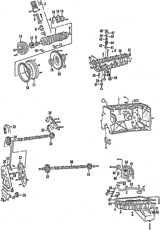 Imagen de Engranaje del Cigueñal Original para Volvo 740 1985 1986 Volvo 760 1985 1984 Marca VOLVO Número de Parte 1257104