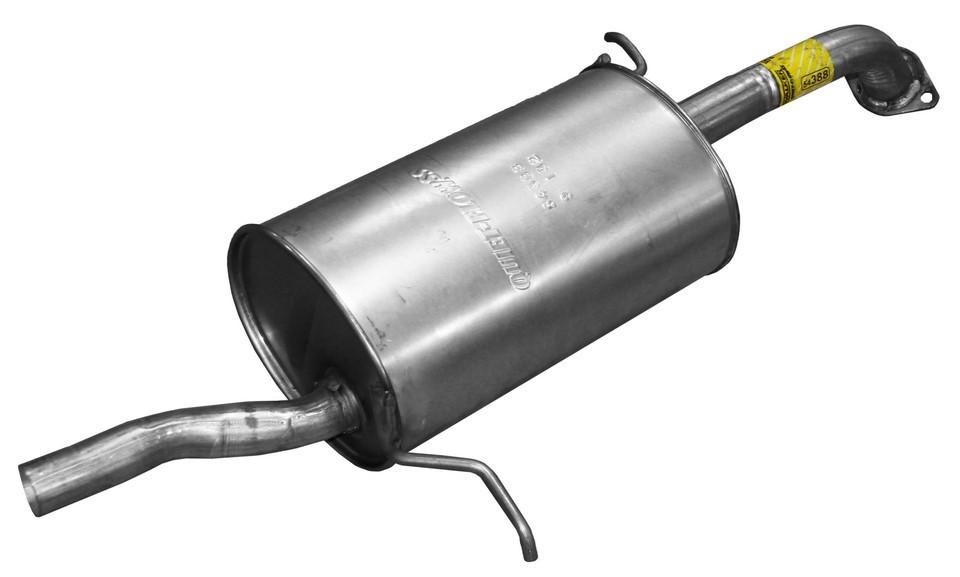 Imagen de Conjunto del silenciador de escape Quiet-Flow SS para Mazda Protege 2001 2002 2003 Marca WALKER Número de Parte 54388
