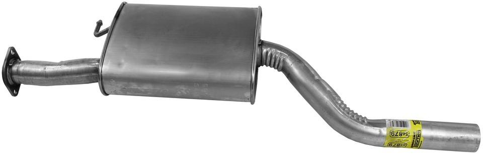Imagen de Conjunto del silenciador de escape Quiet-Flow SS para Hyundai Santa Fe 2007 2008 2009 Marca WALKER Número de Parte #54879