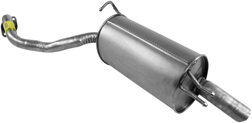 Imagen de Conjunto del silenciador de escape Quiet-Flow SS para Hyundai Santa Fe 2007 2008 2009 Marca WALKER Número de Parte #54880
