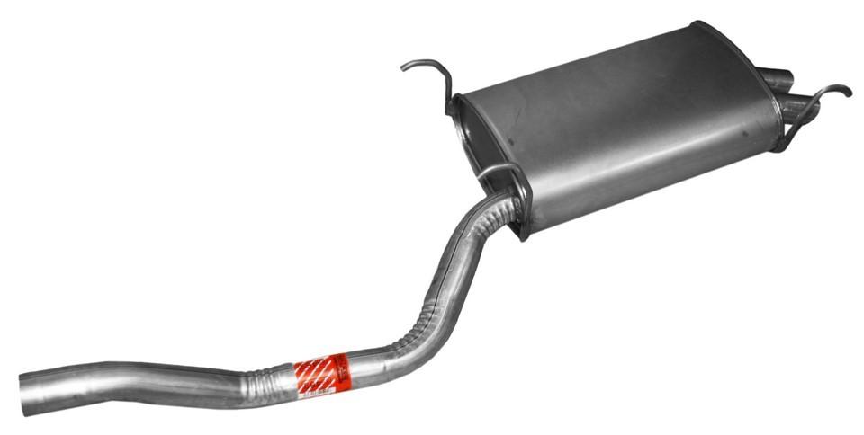 Imagen de Conjunto del silenciador de escape Quiet-Flow SS para Honda Pilot 2004 2006 Marca WALKER Número de Parte 55469