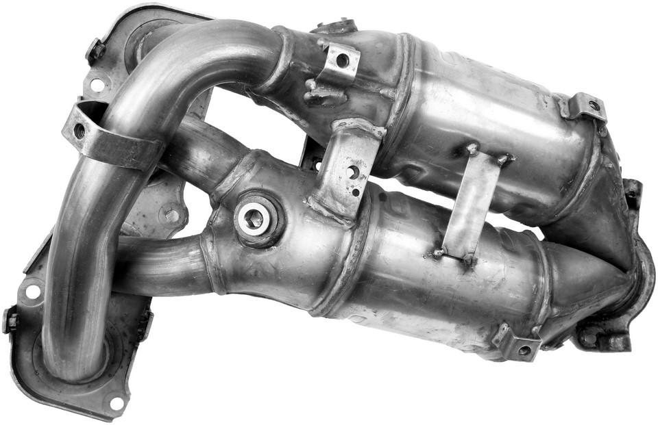Imagen de Múltiple de Admisión con Convertidor Catalítico Ultra para Toyota RAV4 2001 2002 2003 Marca WALKER Número de Parte 16385