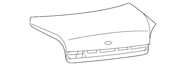 Imagen de Tapa del maletero para Hyundai Xg350 2004 2005  ORIGINAL parte# 69200-39501