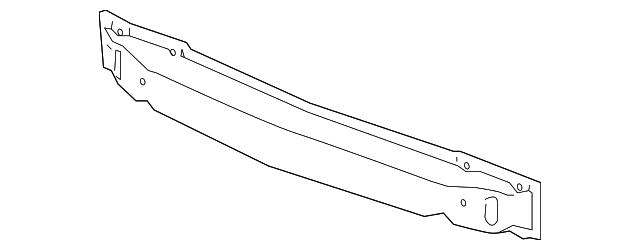 Imagen de Barra de impacto de parachoque para Hyundai Xg350 2004 2005  ORIGINAL parte# 86531-39510