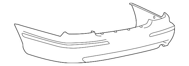 Imagen de Cubierta del parachoques para Hyundai Xg350 2004 2005  ORIGINAL parte# 86610-39520