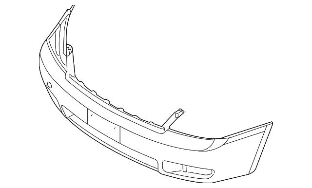 Imagen de Cubierta del parachoques para Kia Sedona 2007  ORIGINAL parte# 86511-4D500